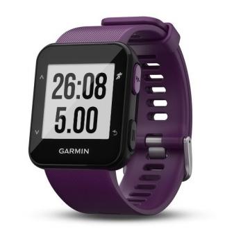 GPS hodinky Garmin Forerunner 30 černé/fialové