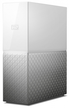 Datové uložiště (NAS) Western Digital My Cloud Home 2TB stříbrné/bílé (1xHDD, 1xGb/s, 1xUSB 3.0)