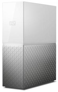 Datové uložiště (NAS) Western Digital My Cloud Home 6TB stříbrné/bílé (1xHDD, 1xGb/s, 1xUSB 3.0)