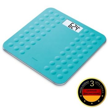 Osobní váha Beurer GS300TURQ modrá