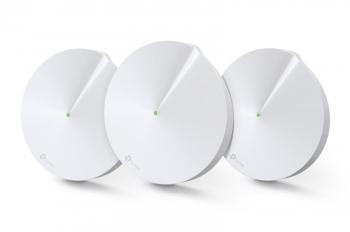 Komplexní Wi-Fi systém TP-Link Deco M5 (3-Pack) + IP TV na 3 měsíce ZDARMA bílý