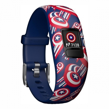 Fitness náramek Garmin Vívofit junior2 Captain America
