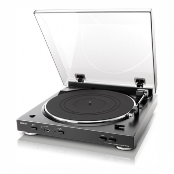 Gramofon Denon DP-200USB stříbrný