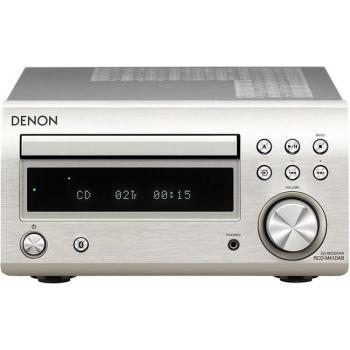 Mikrosystém Denon RCD-M41 DAB stříbrný