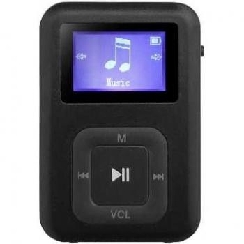 MP3 přehrávač AQ MP01BK černý