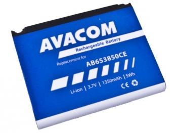 Baterie Avacom pro Samsung SGH-i900, Li-Ion 3,7V 1350mAh (náhrada AB653850CE)