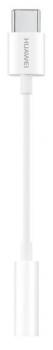 Redukce Huawei Jack 3,5mm / USB-C bílá