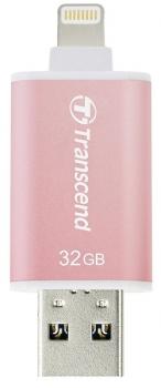 USB Flash Transcend JetDrive Go 300 32GB růžový
