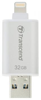 USB Flash Transcend JetDrive Go 300 32GB stříbrný