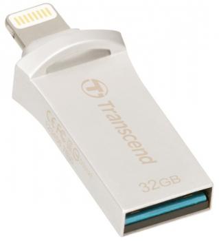 USB Flash Transcend JetDrive Go 500 32GB stříbrný