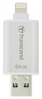 USB Flash Transcend JetDrive Go 300 64GB stříbrný