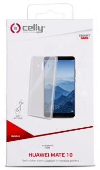 Kryt na mobil Celly Gelskin pro Huawei Mate 10 průhledný