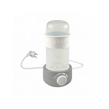 Ohřívač kojeneckých lahví Beaba 3v1 Babymilk Second šedá