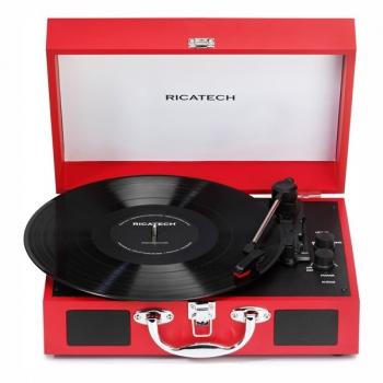 Gramofon Ricatech RTT21 Advanced červený