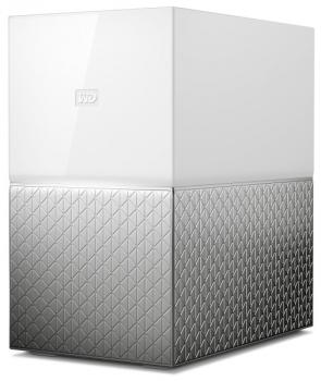 Datové uložiště (NAS) Western Digital My Cloud Home Duo 4TB stříbrné/bílé