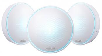 Komplexní Wi-Fi systém Asus Lyra Mini MAP-AC2200 (3-pack) - AC2200 třípásmový WiFi Aimesh
