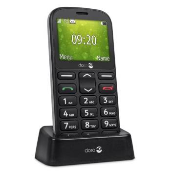 Mobilní telefon Doro 1360 Dual SIM černý