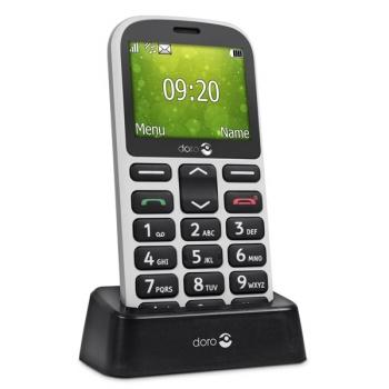 Mobilní telefon Doro 1360 Dual SIM bílý