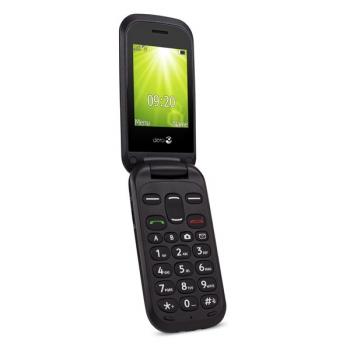 Mobilní telefon Doro 2404 Dual SIM černý