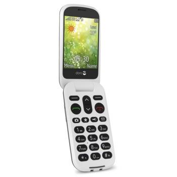 Mobilní telefon Doro 6050 Dual SIM šedý/bílý