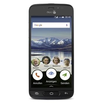 Mobilní telefon Doro 8040 šedý