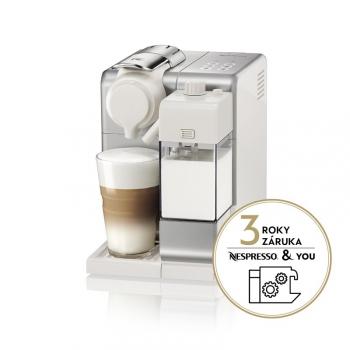 Espresso DeLonghi Nespresso Lattissima Touch EN560.S stříbrné + dárek
