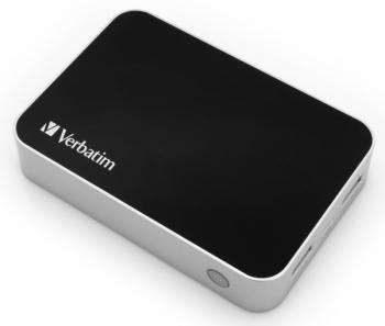 Powerbank Verbatim 10400mAh černý/hliník