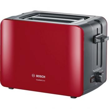 Opékač topinek Bosch ComfortLine TAT6A114 červený