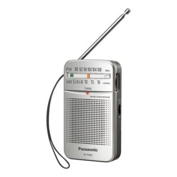 Radiopřijímač Panasonic RF-P50DEG-S stříbrný