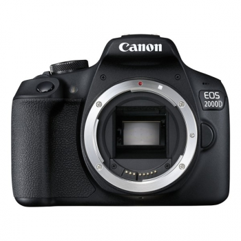 Digitální fotoaparát Canon EOS 2000D tělo černý
