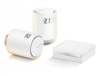 Bezdrátová termohlavice Netatmo Valves Starter Pack2x terrmohlavice a relé bílá