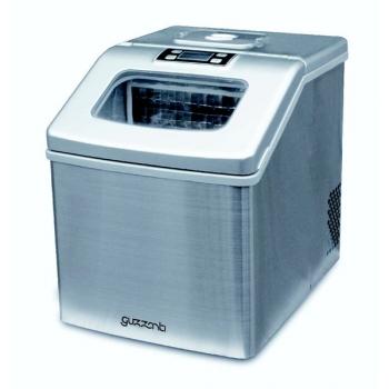 Výrobník ledu Guzzanti GZ 124 bílý/nerez