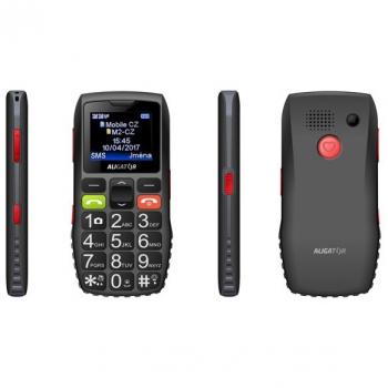 Mobilní telefon Aligator A440 Senior černý/šedý