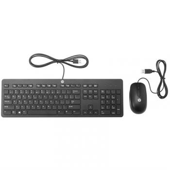 Klávesnice s myší HP Slim černá