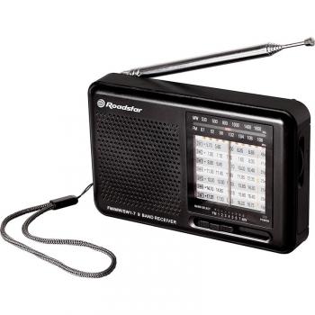 Radiopřijímač Roadstar TRA-2989 černý