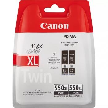 Inkoustová náplň Canon PGI-550 XL, Twin (2pack) černá