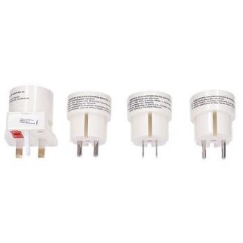 Cestovní adaptér Solight souprava UK, USA, AUS, AFR bílý