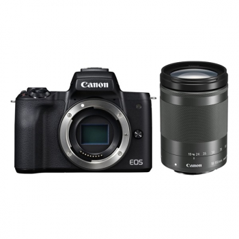 Digitální fotoaparát Canon EOS M50 + M 18-15O IS STM černý