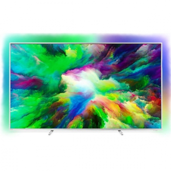 Televize Philips 75PUS7803 stříbrná