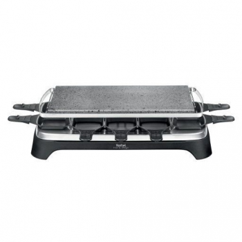Gril Tefal Raclette Inox & Desig PR457812 černý