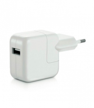 Nabíječka do sítě OEM pro iPhone, iPad, výkon 2,1A/10W, cestovní bílá