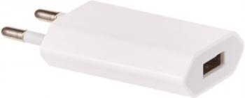 Nabíječka do sítě OEM pro iPhone, iPod, výkon 1A/5W bílá