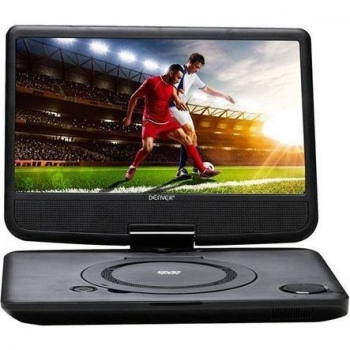 DVD přehrávač Denver MT-1083NB, přenosný černý