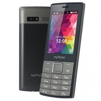Mobilní telefon myPhone 7300 Dual SIM černý/stříbrný