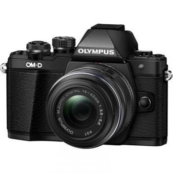 Digitální fotoaparát Olympus E-M10 Mark III + 14-42 černý