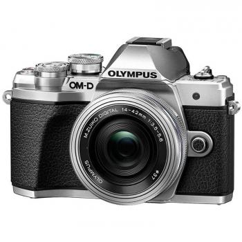 Digitální fotoaparát Olympus E-M10 Mark III, stříbrná/stříbrná + 14-42mm