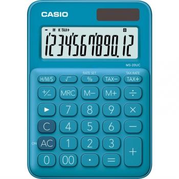 Kalkulačka Casio MS 20 UC BU modrá