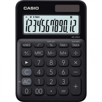 Kalkulačka Casio MS 20 UC BK černá