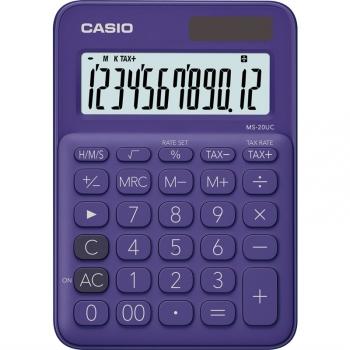 Kalkulačka Casio MS 20 UC PL fialová