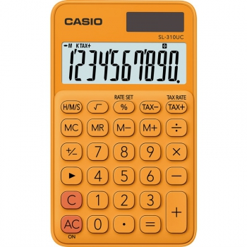 Kalkulačka Casio SL 310 UC RG oranžová